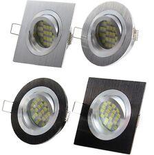 LED Einbaustrahler Set mit 230Volt GU10 Leuchte NEU Einbauspot Art.6100-15/05-06