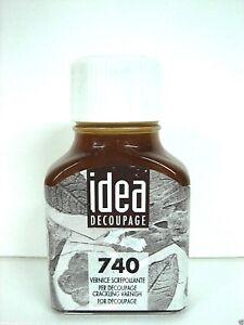Paint Idea maimeri 740 Crackly Effect Water Decoupage 2.5oz