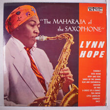 LYNN HOPE: The Maharaja Of The Saxophone LP (corner ding, 2 neat clear taped se