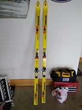 Atomic ARS Dominator HV skis 195 Sport Series with bindings