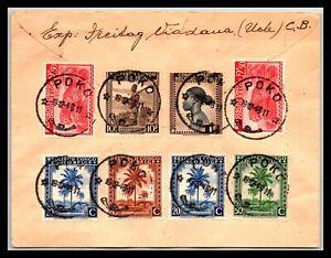 GP GOLDPATH: BELGIUM CONGO COVER 1945, TO AUSTRIA CV567_P07