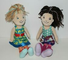 Groovy Girls Dolls Marissa & Bayani Set Brunette and Blonde With Outfits!