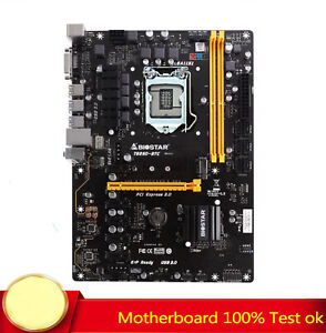 FOR Biostar TB250-BTC Motherboard Supports 7th Generation 7700 100% Test Work