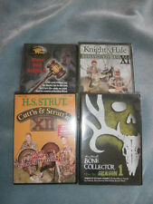 LOT 4 Hunting DVD Bone Collector Cutt'n & Strutt'n Ultimate Whitetail The Trial