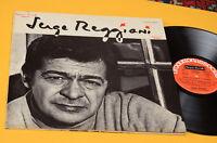 SERGE REGGIANI LP ORIG ITALY 1971 PRODUTTORI ASSOCIATI GATEFOLD COVE
