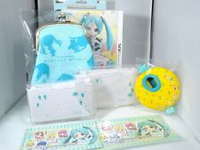 Hatsune Miku Project Mirai 2 Accessory Set for Nintendo 3DS XL Cover Skin Plate