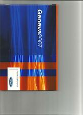 DOSSIER PRESSE PRESS KIT CATALOGUE CD PHOTOS FORD GENEVE ANNEE 2007