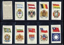 Players National Flags & Arms SET FINE