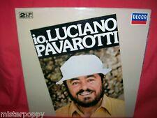 Io, LUCIANO PAVAROTTI Double LP 1981 ITALY MINT- G/f Laminated Cover DECCA