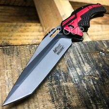 """9"""" MTECH SLIM Spring Assisted Open Tactical Rescue Folding POCKET KNIFE EDC"""