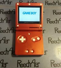 White & Red Zelda GameBoy Advance SP *MINT* AGS-101 Brighter Nintendo System gba