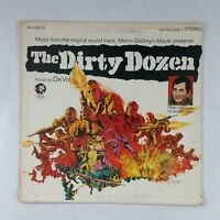 THE DIRTY DOZEN Soundtrack SW91230 LP Vinyl VG++ Cover VG+