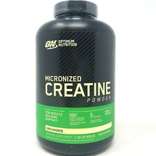 ON Optimum Nutrition Micronized Creatine Monohydrate Powder 120 Servings 600G
