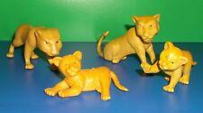 Löwenfamilie ,  Spielfigur  Sammelfigur ,Set ,4 Stck.6-10cm   Spielzeug
