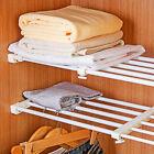 Telescopic Storage Rack Wardrobe Bathroom Kitchen Storage Cabinet Organizer Rack