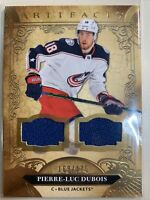 2020-21 Upper Deck UD Artifacts PIERRE-LUC DUBOIS #38 Dual Jersey 169/175 GOLD
