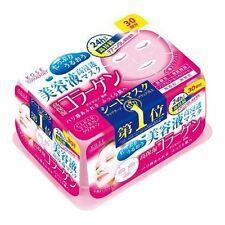 KOSE COSMEPORT Clear Turn Face Mask Collagen 30 sheets JAPAN
