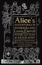 Alice's Adventures in Wonderland: Unabridged, with Poems, Letters & Biography [G