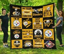Fan Pittsburgh Steelers Quilt Blanket Amazing Gift Idea
