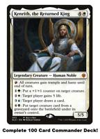 MTG Commander EDH Deck Kenrith, the Returned King 100 Cards Custom Deck