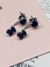 Autentic TOUS Silver JOIN Black Earrings
