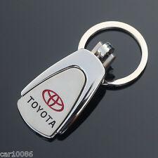Nice Metal Key Chain Car Logo Pendant Keyfob Holder Silver Key Ring For Toyota