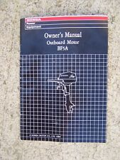 1991 Honda BF5A Outboard Motor Owner Manual MORE BOAT ITEMS IN OUR STORE  S