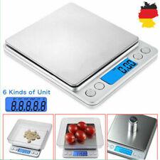 Digital Mini Waage 0.1-3000g LCD Feinwaage Taschenwaage Goldwaage Präzisionwaage