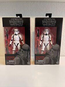 Hasbro Star Wars The Black Series Stormtrooper 48 Action Figure Open Box
