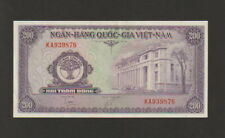 South Vietnam,200 Dong Banknote,1958,Choice About Uncirculated Condition Cat#9