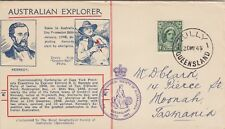 Zz4197 Rgsaq Kennedy Explorer Commemorative cover Tully Qld 30 May 1948