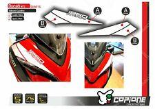 Adhesive Stickers Compatible DUCATI Multistrada 1260 Tapered MT15