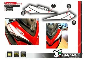 Adhesive Stickers Compatible DUCATI Multistrada 1260 Tapered MT15
