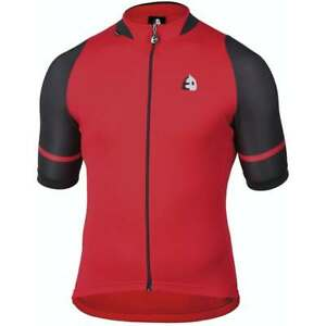 Etxeondo Jersey Konbi 32420  Red Black New XXL Cycling Clothes made in Spain
