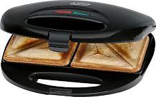 Tostiera Tostapane Elettrico Piastra Toast Antiaderente Clatronic 750 W
