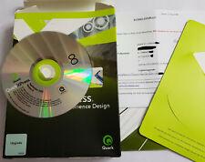 QuarkXPress 8  Xperience Design - MAC/Windows - Deutsch - Upgrade Version