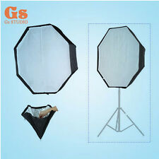 "Umbrella Softbox For SpeedLight Flash 120cm 47"" Octagon Softbox Off-camera"
