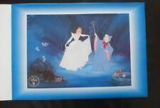 Disney store- Cinderella 1997 commemorative Lithograph