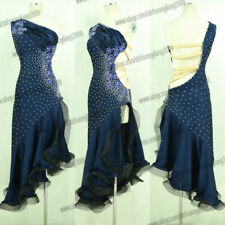 jz Tassel Latin Dance Dress Clothing Salsa Costume Ballroom Competition Skirt