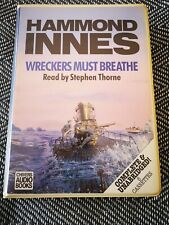 HAMMOND INNES - WRECKERS MUST BREATHE - Chivers audio book 6 CASSETTE