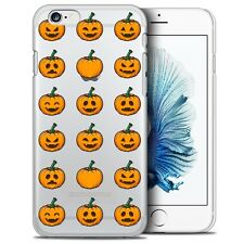 Coque Crystal Pour iPhone 6/6s (4.7) Extra Fine Rigide Halloween Smiley Citrouil