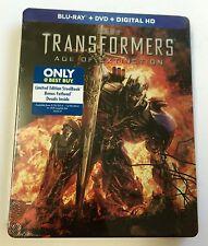 Only @ BEST BUY  | TRANSFORMERS: AGE OF EXTINCTION | Blu-Ray | Steelbook OOS/OOP