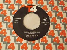 """BEATLES i wanna be your man & ROLLING STONES it's all over IRAN 7"""" IRANIAN RARE"""