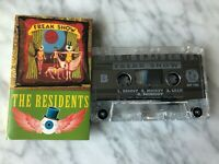The Residents Freak Show Cassette Tape 1991 Cryptic Corp. OP 1.2 RARE! OOP!