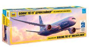 1/144 Passenger Airliner Boeing 787-9 Dreamliner (Zvezda)