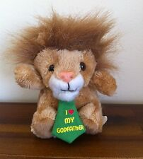 I Love My Godfather Lion Soft Plush Toy/Bear/Gift Small