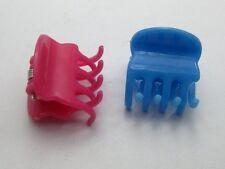 25 Mixed Colour Plastic Hair Claw Clip Clamp DIY 20X20mm