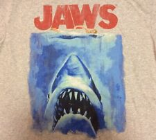 JAWS Movie Poster - 1975 Vintage Style T-Shirt Size 2XL - Officially Licensed