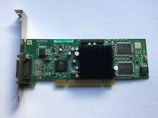 Matrox Millennium G550 32MB AGP Video Card G55MADDA32DB with Cable 168754-001