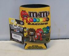 Wincraft #18 M&M'S Racing Kyle Busch Jgr Can Cooler Koozie Coolie Nwt
